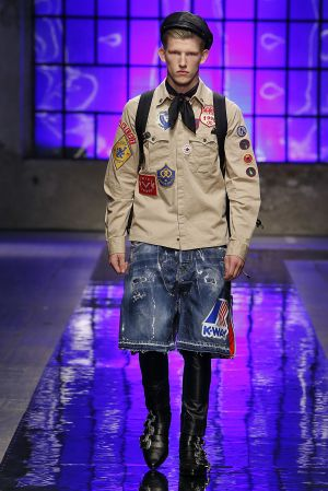 Trends from Milan Fashion Week Men's  S/S 2018: Scout Movement