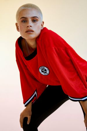 ...the collection features sporty silhouettes with minimal styling...