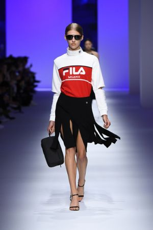 Fila hosts its first runway show in Milan