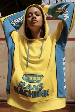 Wrangler's 'Blue & Yellow' genderless collection