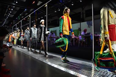 The Rainbow Machine is United Colors of Benetton's first ever Milan Fashion Week runway show.
