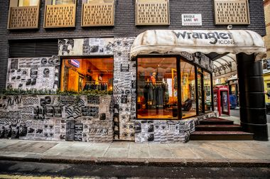 Wrangler Pop-Up Store, 52 Brewer Street, Soho, London