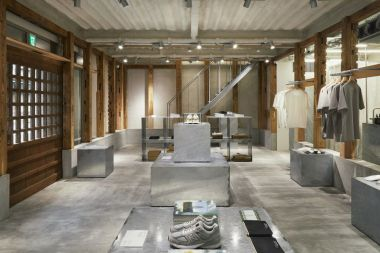 New Balance opens 'T-house' in Tokyo