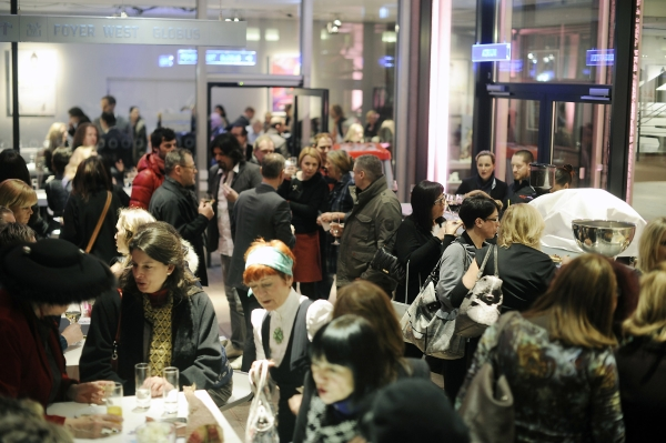 2,000 visitors attended the prelude of The Gallery Berlin