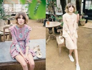 Alexa Chung in Superga's new ad campaign
