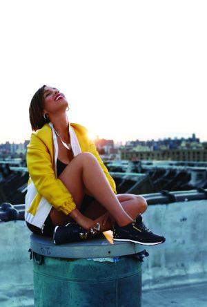 Alicia Keys X Reebok for fashion collaboration