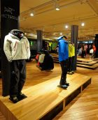 Arc'teryx shop at Globetrotter