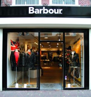 Barbour pop-up store in Haarlem