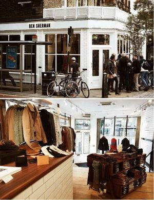 Ben Sherman store, Islington, London