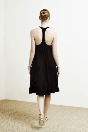 Black dress from the new Oysho Collection