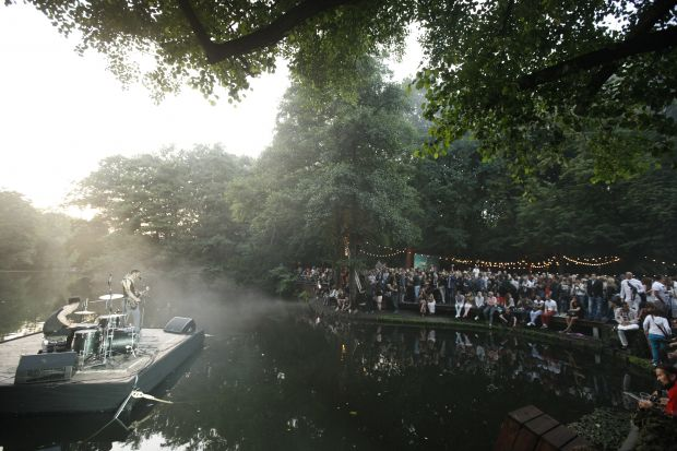 Bread&Butter opening party location at Tiergarten