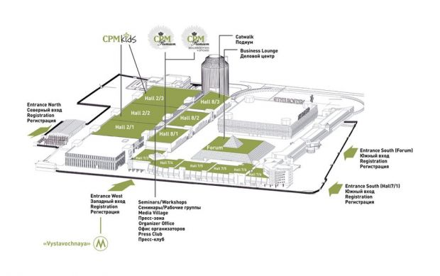 CPM expocenter plan