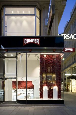 Camper Together store in Vienna