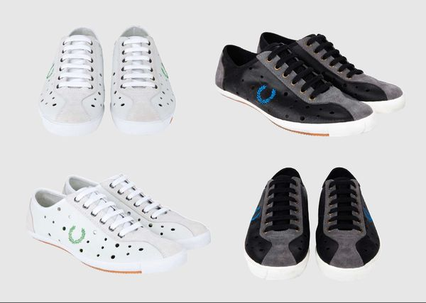 Celebrate the link between sport and subculture: cycling shoes by Fred Perry