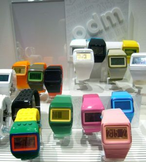 Colorful watches by ODM
