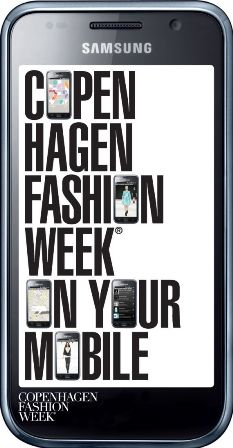 Copenhagen Fashion Week mobile app
