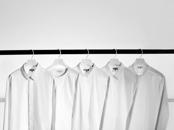Cos' fifth anniversary - Men's white shirt edition