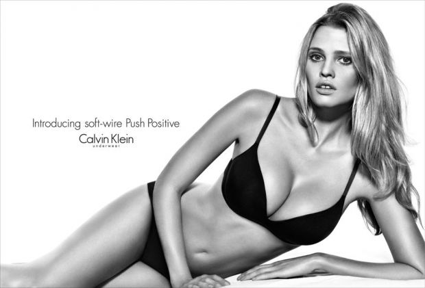 Current campaign starring Lara Stone