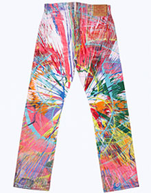 Damien Hirst for Levi's