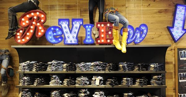 Denim Wall by Review