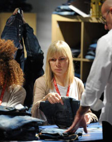 Denim by PV show floor