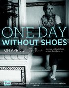 Designer Tory Burch for 'One  Day without Shoes'