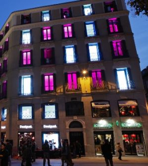 Desigual's new flagship store in Madrid