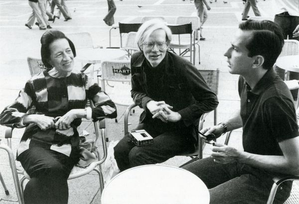 Diana Vreeland, Andy Warhol & Fred Hughes in S.Marco, 1973 - © Sam Green, © Harper Collins