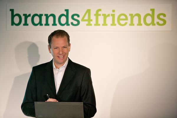 Dr. Stephan Zoll, CEO of brands4friends