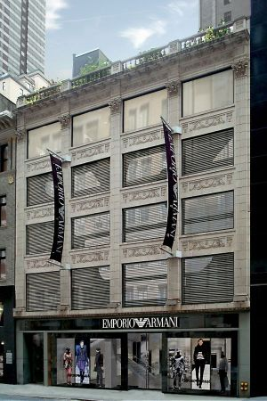 Emporio Armani opens in New York