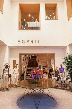 Esprit's new Lighthouse store in Düsseldorf