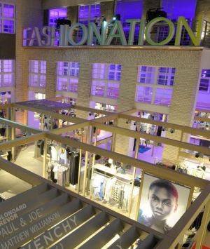 'Fashionation' concept in Berlin