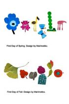 First Day of Spring and Fall Doodles by Marimekko