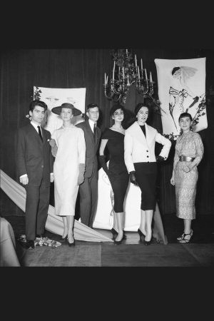 First Woolmark Prize in 1954