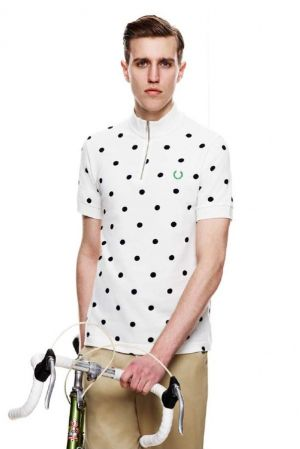 'Fred Perry x Cycling Blank Canvas' - mod-inspired cycling attire