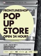 Frontlineshop opens pop up-store