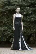 Giorgio Armani dress for Green Carpet Challenge