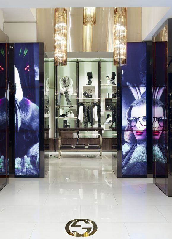 Stories: GUCCI INTRODUCES IMMERSIVE RETAIL EXPERIENCE