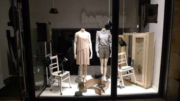 Hayashi's window display