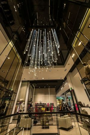 Hugo Boss re-opens Paris flagship