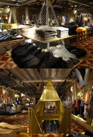 Inside Cheap Monday's London store