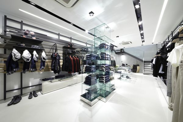 Inspired by their Paris store: M+F Girbaud, Germany