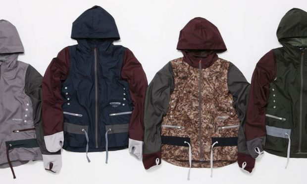 Jackets from the Nike x Undercover Gyakusou Fall/Winter 2012 collection