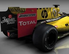 Japan Rags: new sponsor of Renault F1 team