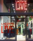 Lacoste L!ve store in Milan