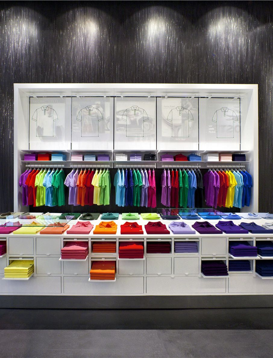 stories lacoste opens flagship store in hamburg. Black Bedroom Furniture Sets. Home Design Ideas