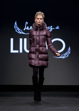 """Les Plumes de Liu Jo"" - winter 2012 quilted down jacket collection"
