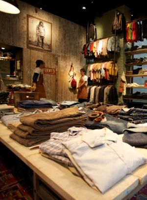 Levi's Vintage Clothing Store in Japan; photo by Will Robb