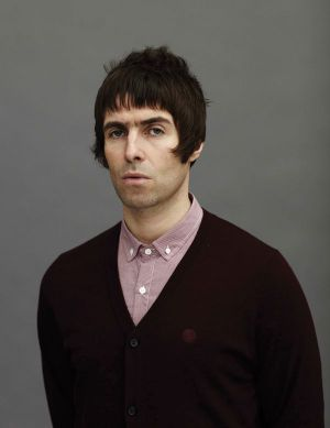 Liam Gallagher with his own fashion line Pretty Green