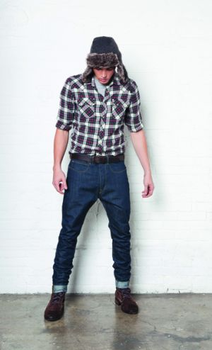 Lumberjack look by Lee